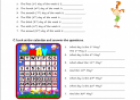 Days of the week (worksheet) | Recurso educativo 20701