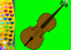 ¡A Colorear!: Violín | Recurso educativo 28946