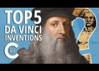 TOP 5 LEONARDO DA VINCI INVENTIONS | Recurso educativo 765140